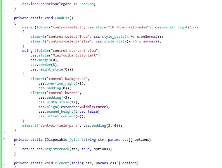 Резервируем модификаторы — Анонс cssGUI и немного про наш раздел Unity — Unity — DevTribe: Разработка игр