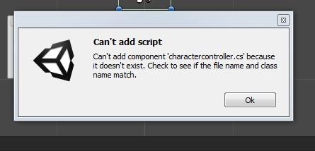 Can't add script — Unity — DevTribe: инди-игры, разработка, сообщество