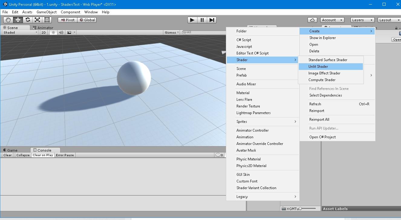 #3 Vertex and Fragment Shader — Unity — DevTribe: Разработка игр