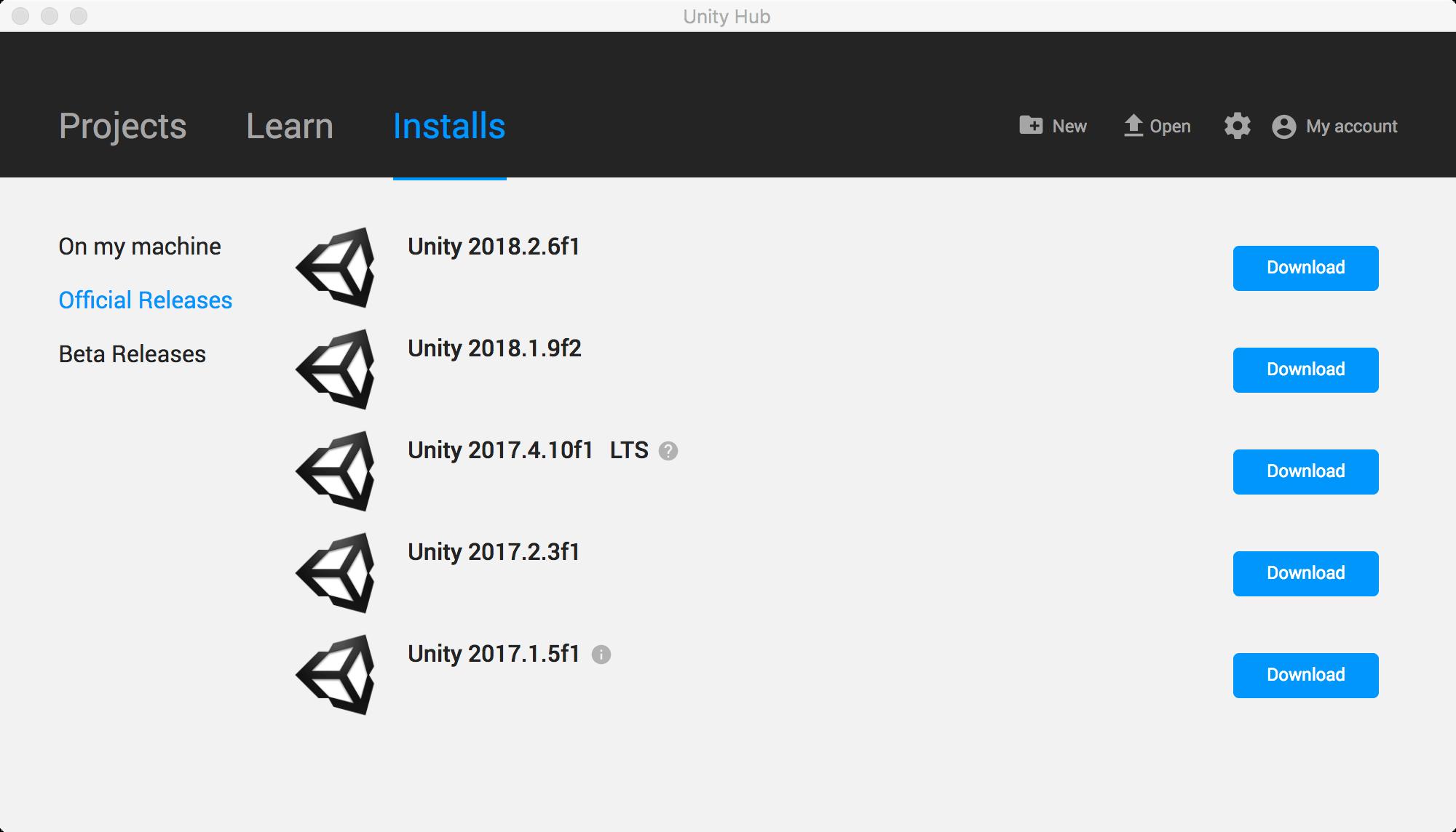 Unity Hub доступен для скачивания! — Unity — DevTribe: Разработка игр (linux, macos, unity.hub, windows, Перевод, перевод, скачать)