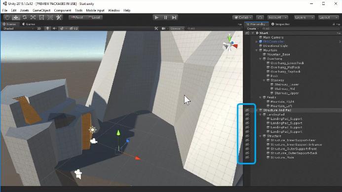 Unity 2019.1: SceneVis — Unity 2019.1 - Что нового в Beta релизе? — Unity — DevTribe: Разработка игр (бета релиз, блог юнити, Перевод, перевод)