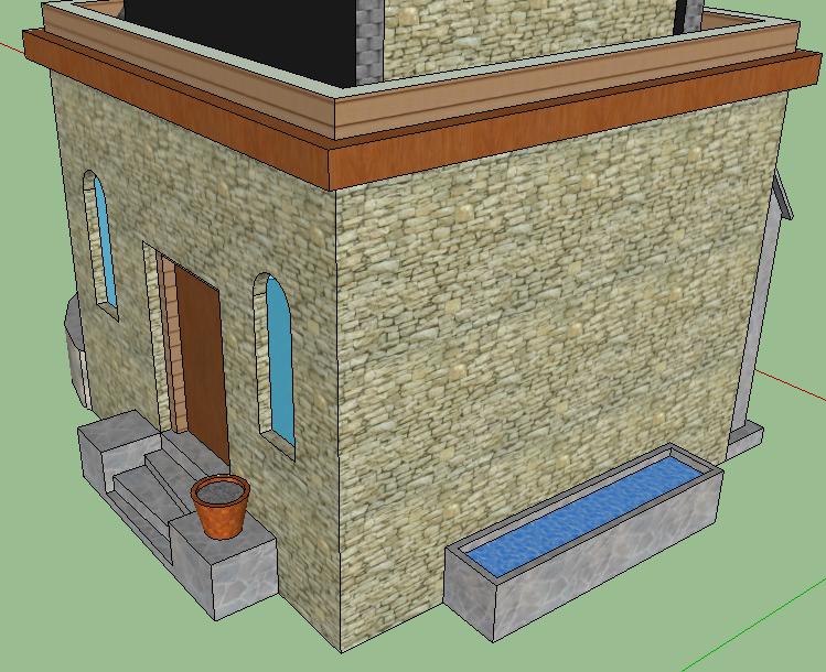 Модель Храма — 3D Дизайн — DevTribe: Разработка игр