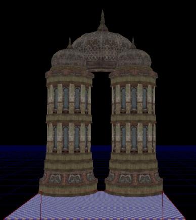 Крыша и башни — Unreal Engine — DevTribe: Разработка игр