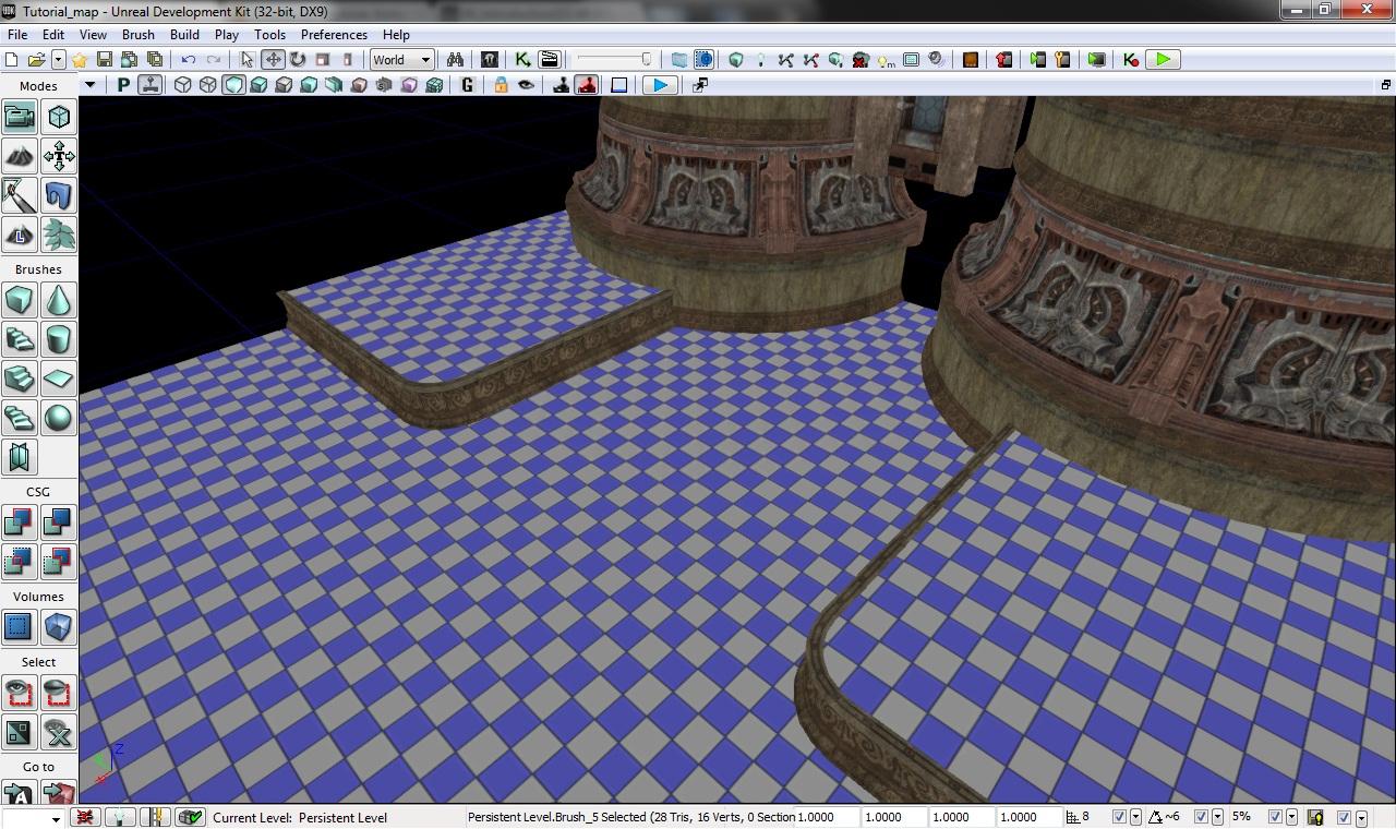 BSP и браши — Unreal Engine — DevTribe: инди-игры, разработка, сообщество