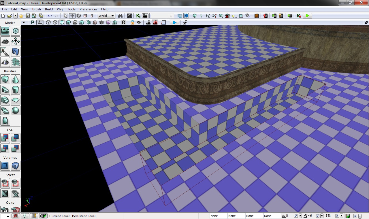 BSP и браши — Unreal Engine — DevTribe: Разработка игр
