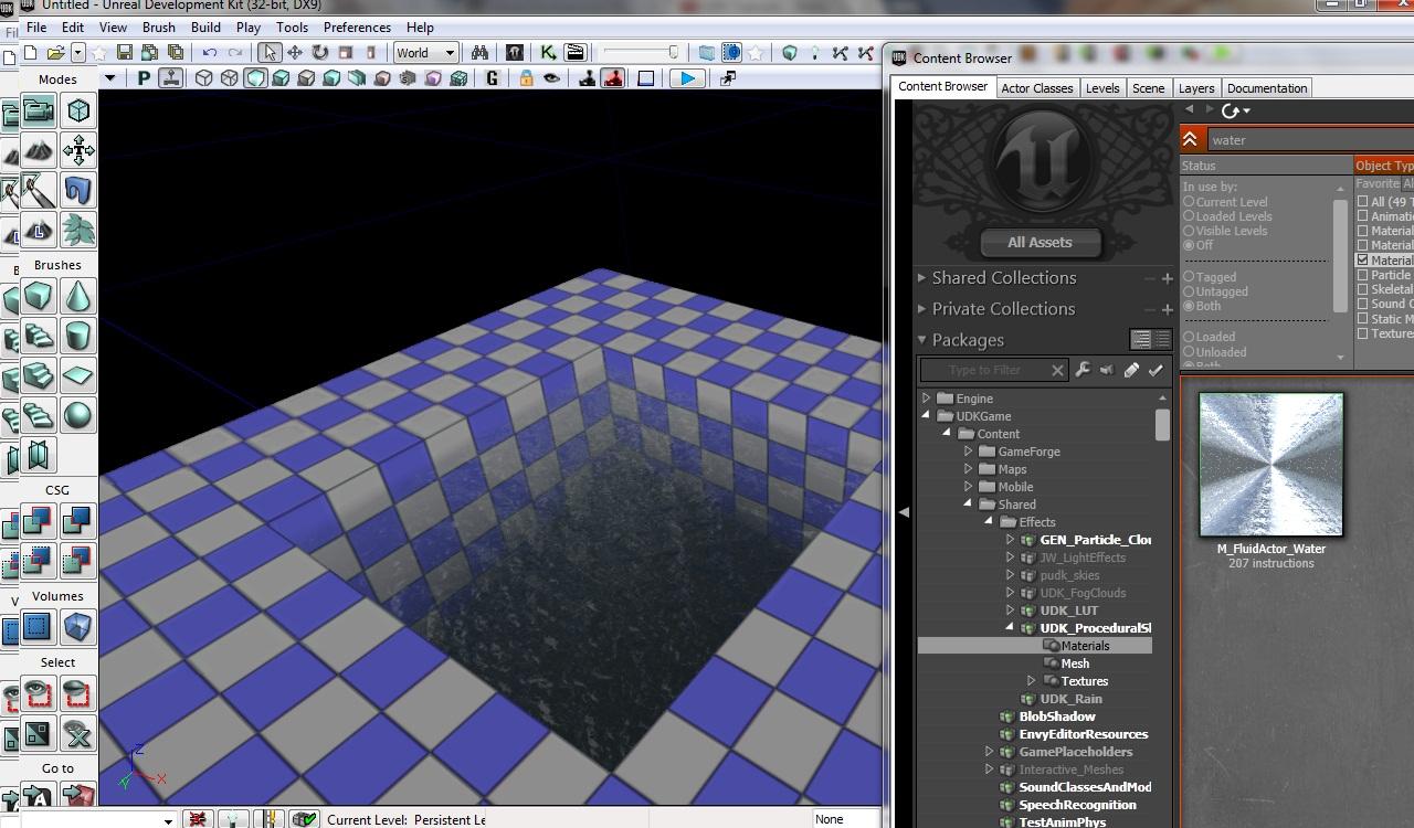 Создаем простую воду — Unreal Engine — DevTribe: Разработка игр