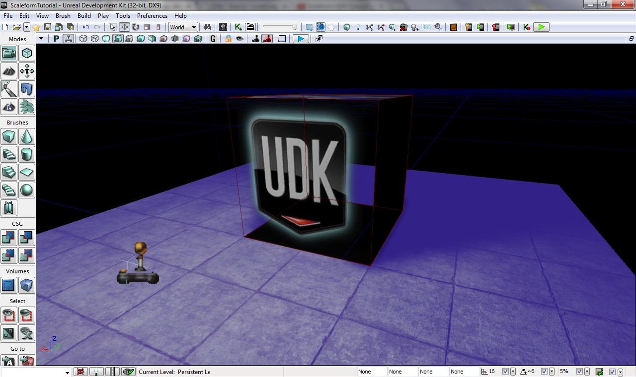 Основы ScaleForm — Unreal Engine — DevTribe: Разработка игр