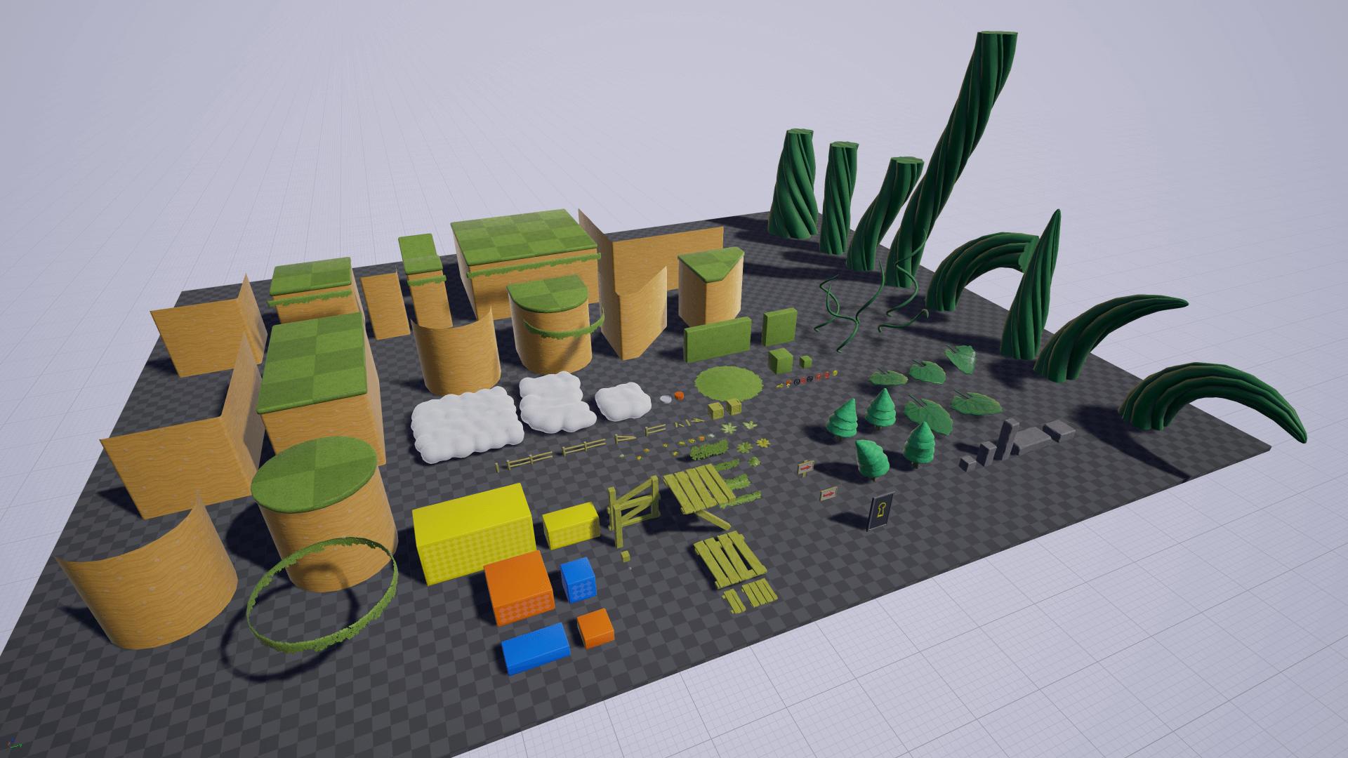 Unreal Engine 4 - 100% скидка на ассеты в мае — Unreal Engine — DevTribe: Разработка игр