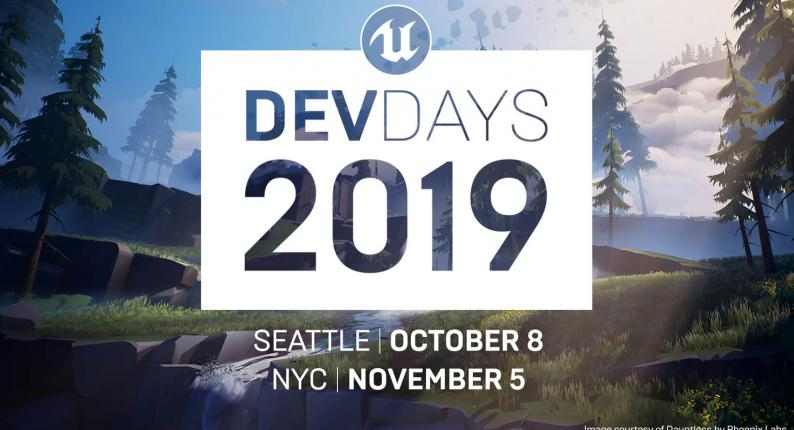 Анонс Unreal Dev Days 2019