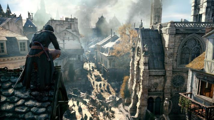 Собор Нотр-Дам в игре — Бесплатная раздача Assassin's Creed Unity в Uplay — Новости — DevTribe: инди-игры, разработка, сообщество