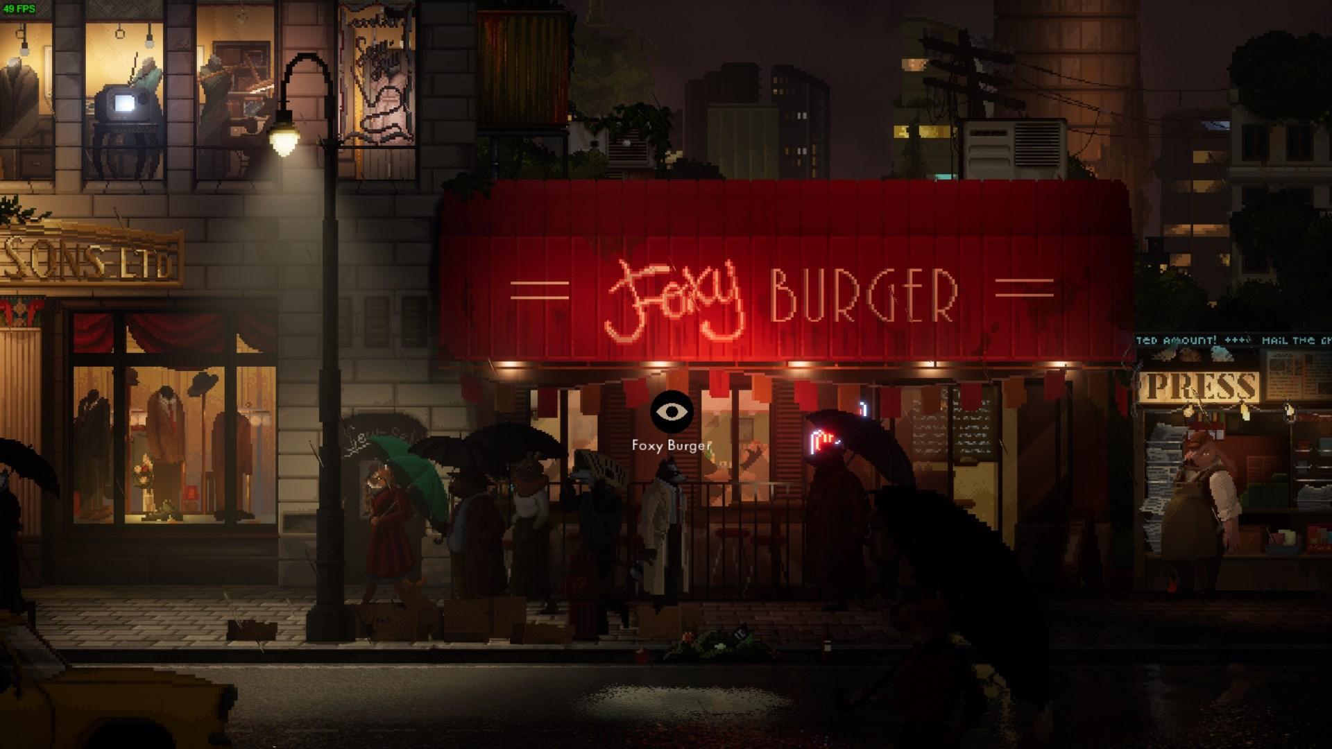 Бургеров мне отведать не удалось — Ревью Backbone Prologue — Игровые обзоры — DevTribe: Разработка игр