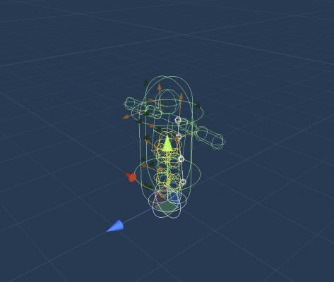 Наш скелетик — О разработке на этой неделе — Slash Polygon: Tournament — DevTribe: инди-игры, разработка, сообщество (devblog, ecs, GameDev, slash polygon, блог, геймдизайн, игровой баланс)