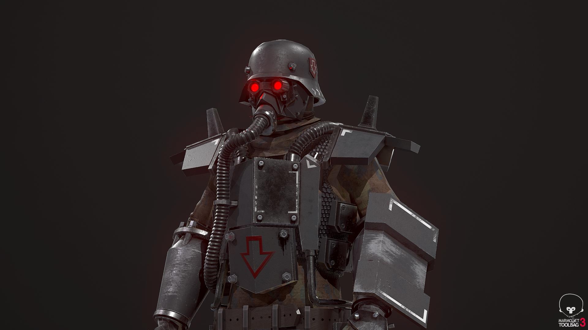 Сделал персонажа для своей игры.  — Red Planet RTS — DevTribe: Разработка игр