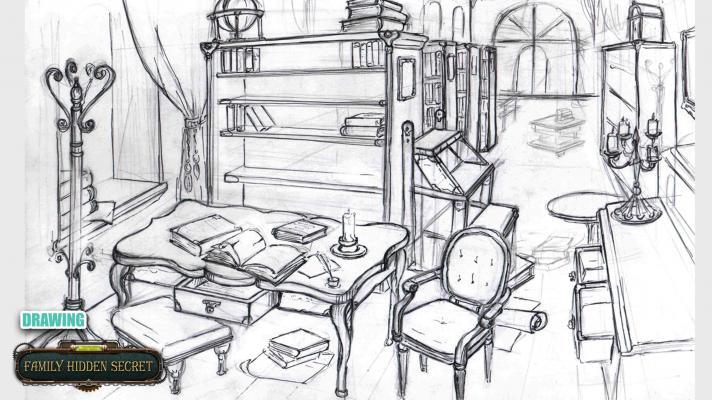 Новые скетчи! — Family Hidden Secrets — DevTribe: инди-игры, разработка, сообщество