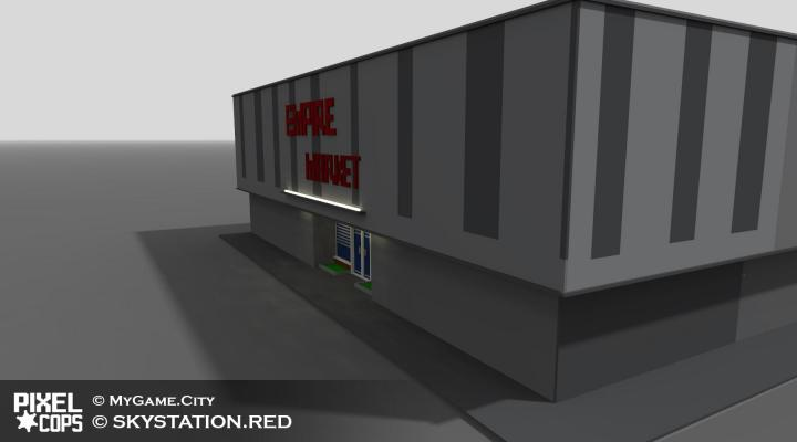 Здания, машины и ... — Pixel Cops — DevTribe: инди-игры, разработка, сообщество (мобильные игры, Разработка, разработка)