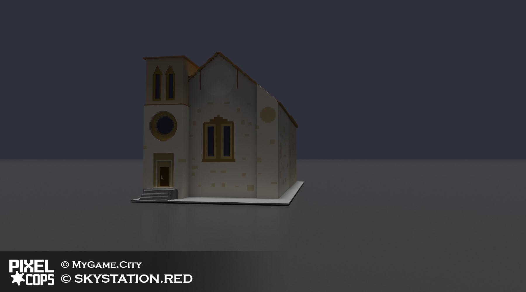 Аве Мария! — Pixel Cops — DevTribe: Разработка игр (pixel cops, бета, збт)