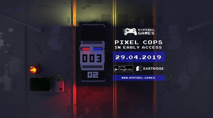 Скоро: в раннем доступе! — Pixel Cops — DevTribe: инди-игры, разработка, сообщество (android. play market, early access, pixel cops, ранний доступ)