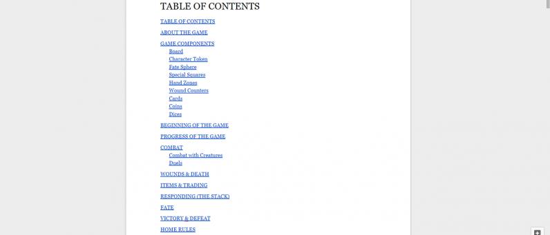Разработка Fated Kingdom #4 - правила игры — Fated Kingdom — DevTribe: инди-игры, разработка, сообщество (board game, rulebook, книга правил, настолка, настольная игра, правила)