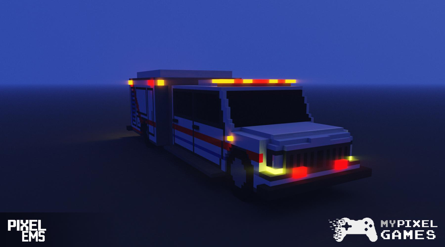 В главных ролях — Pixel EMS — DevTribe: Разработка игр (ambulance, ems)