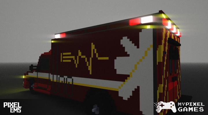 В главных ролях — Pixel EMS — DevTribe: инди-игры, разработка, сообщество (ambulance, ems)