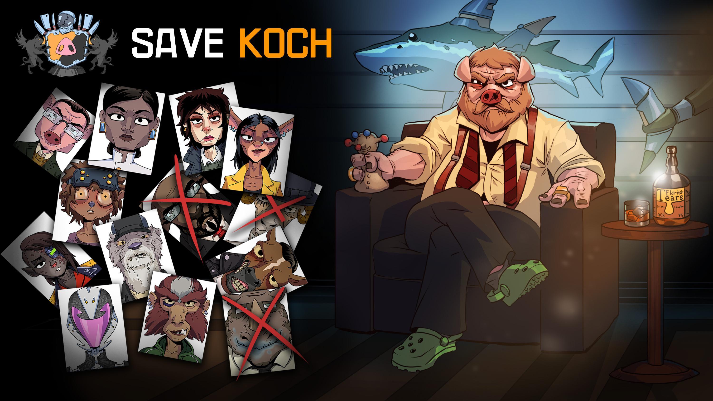 Save Koch — DevTribe: Разработка игр