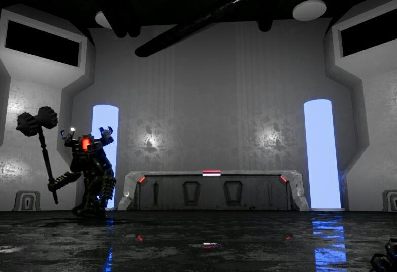 TitanZ -- Bossfight — Exterminator — DevTribe: инди-игры, разработка, сообщество (boss, exterminator, fight, titanz, ue4)