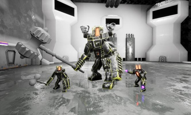 Модели класса Titan в сборе. — TitanY — Exterminator — DevTribe: инди-игры, разработка, сообщество