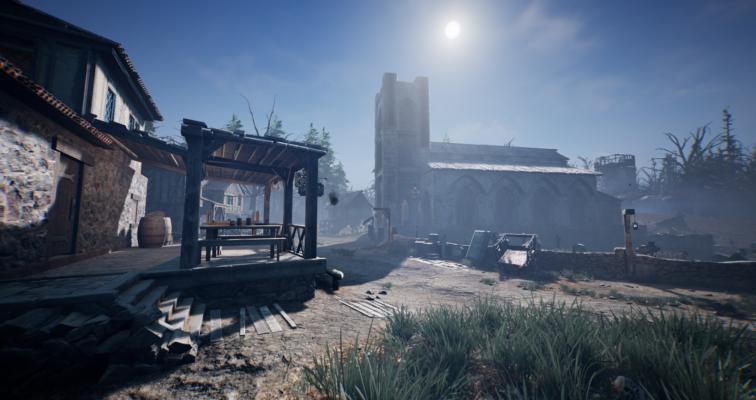 Дневник разработчика #6. Смена времени суток. — Redemption of the Damned — DevTribe: инди-игры, разработка, сообщество (Steam, Unreal Engine, хоррор)