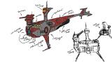 Корвет — Новый арт флота и вакансия 3Д-дизайнера — StarPlosion — DevTribe: инди-игры, разработка, сообщество (3д-дизайнер, rts, Арт, арт)