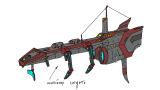 Легкий транспортный шатл — Новый арт флота и вакансия 3Д-дизайнера — StarPlosion — DevTribe: инди-игры, разработка, сообщество (3д-дизайнер, rts, Арт, арт)